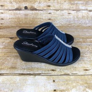 NEW Skechers Memory Foam Comfort Wedges